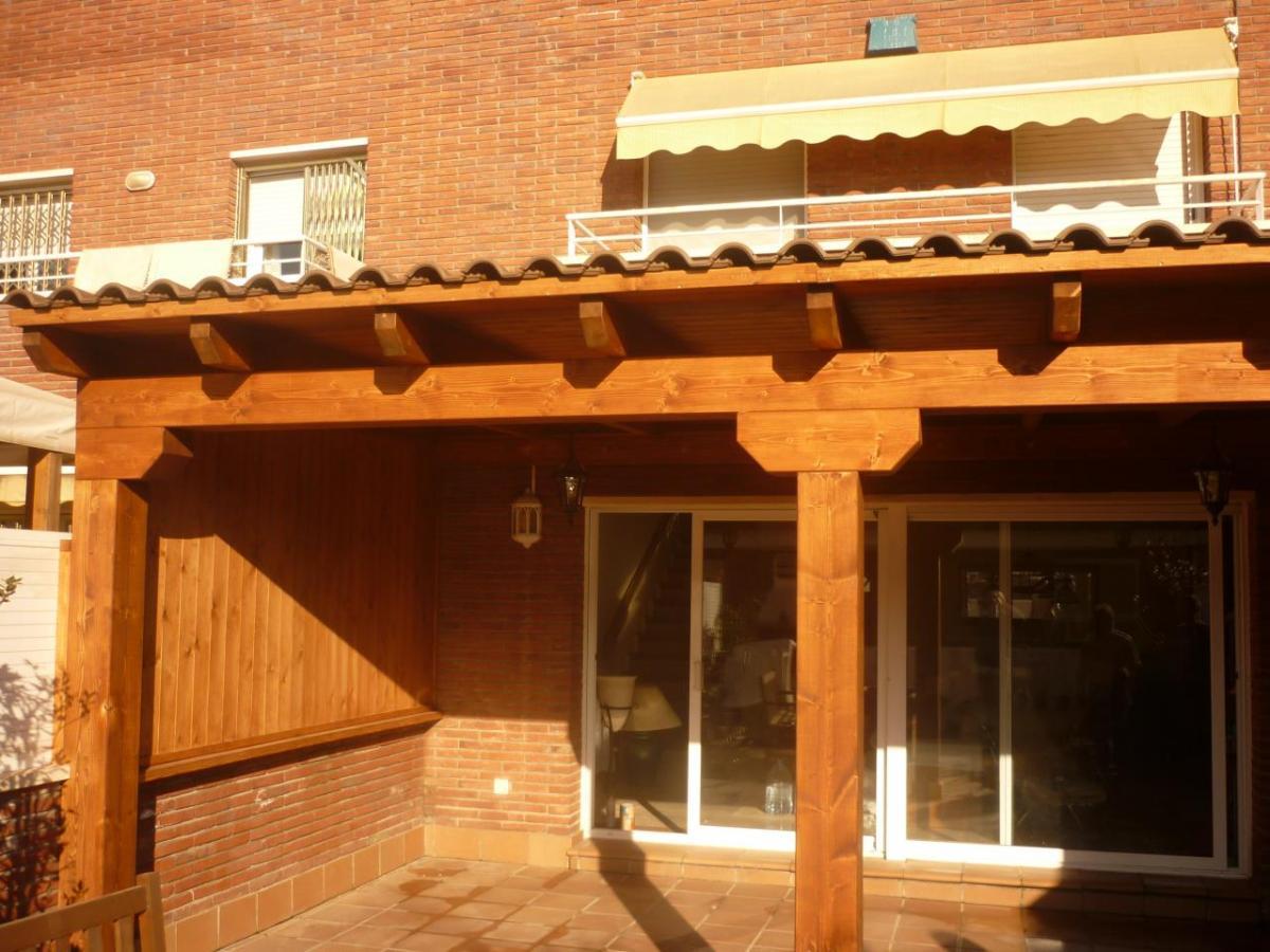 Jardinlux - Pérgolas - Pergolas de madera, tarimas, vallas ... - photo#4